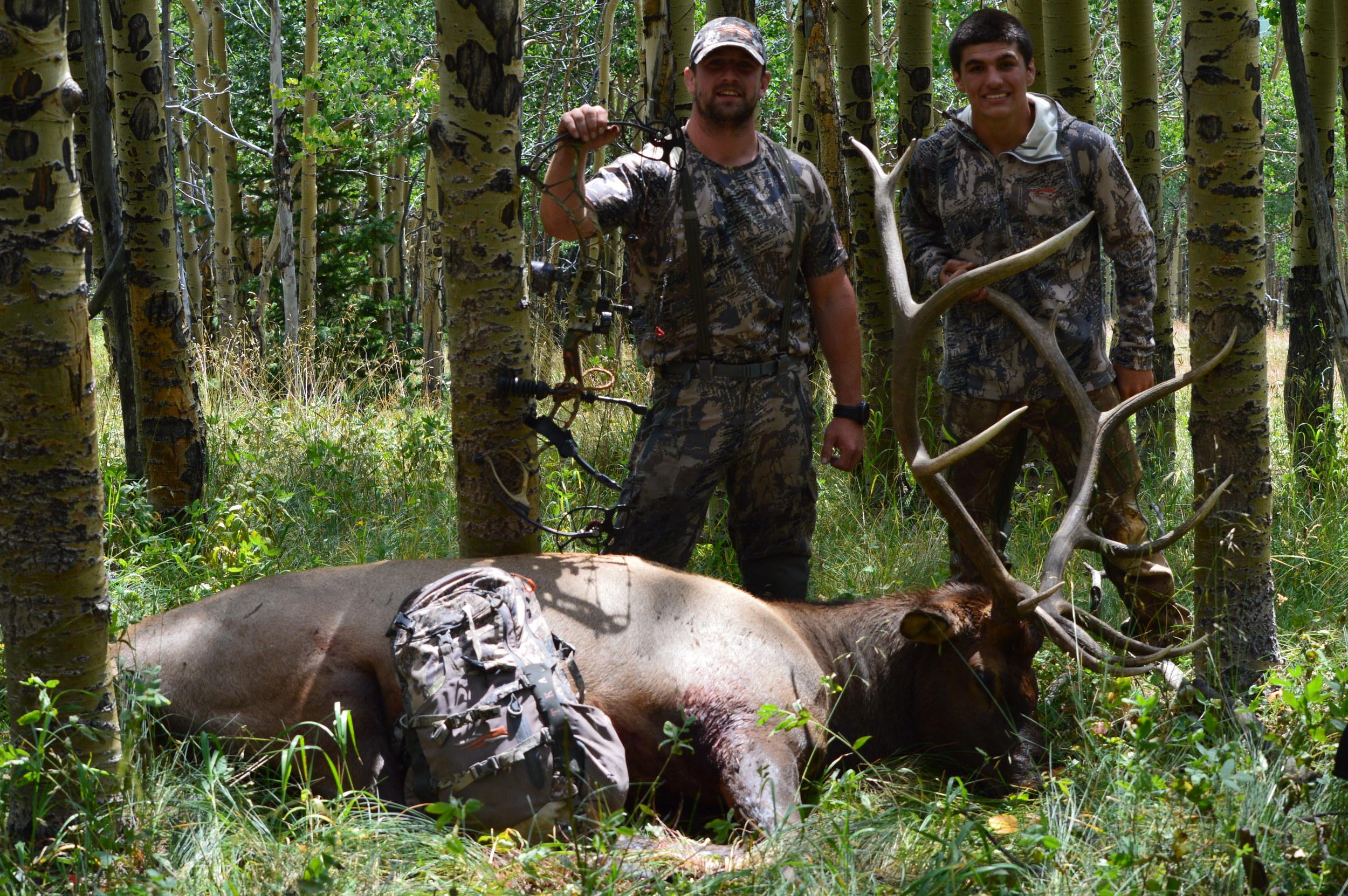 Cory and me elk.JPG