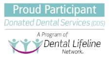 Charles R. Young, DDS is a proud participant of the donated dental services.