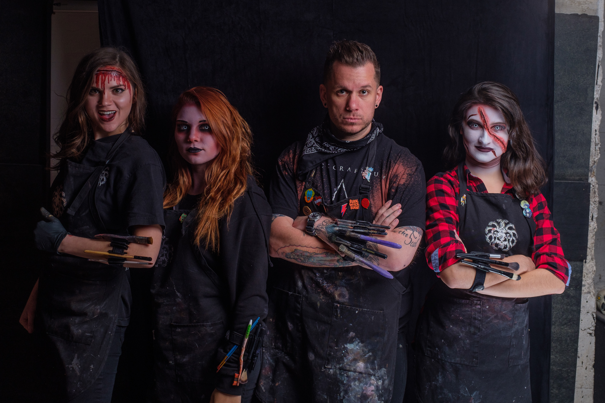 Photo by Danny Alexander  Mary Proctor, Phoebe Conrad, Myself and Rebecca Rhodes