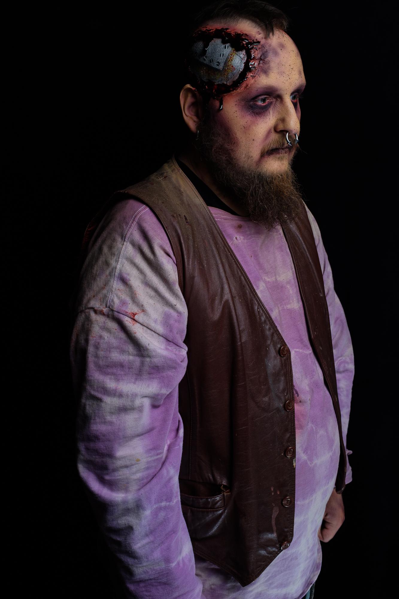 Photo by Danny Alexander  Makeup: Myself  Actor: Taz Walston
