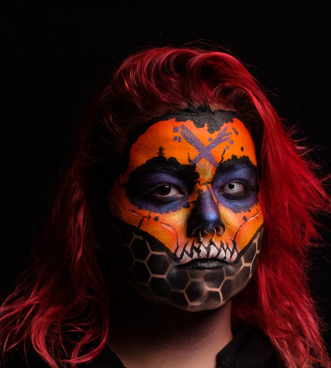 Photo by Danny Alexander  Makeup: Myself  Actress Laina Castle