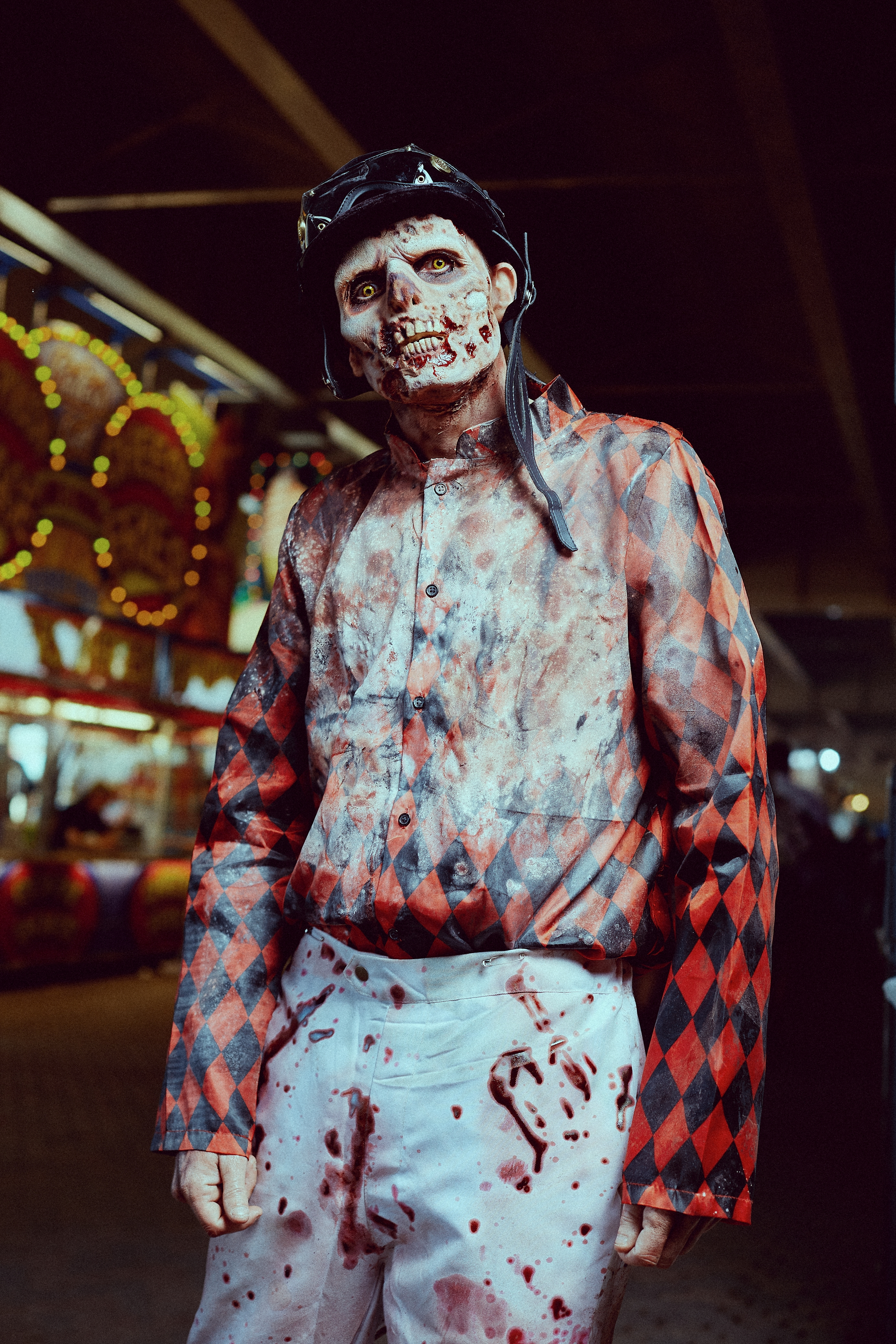 Photo of Jeff Howell as Pat Day of the Dead by Tate Chmielewski