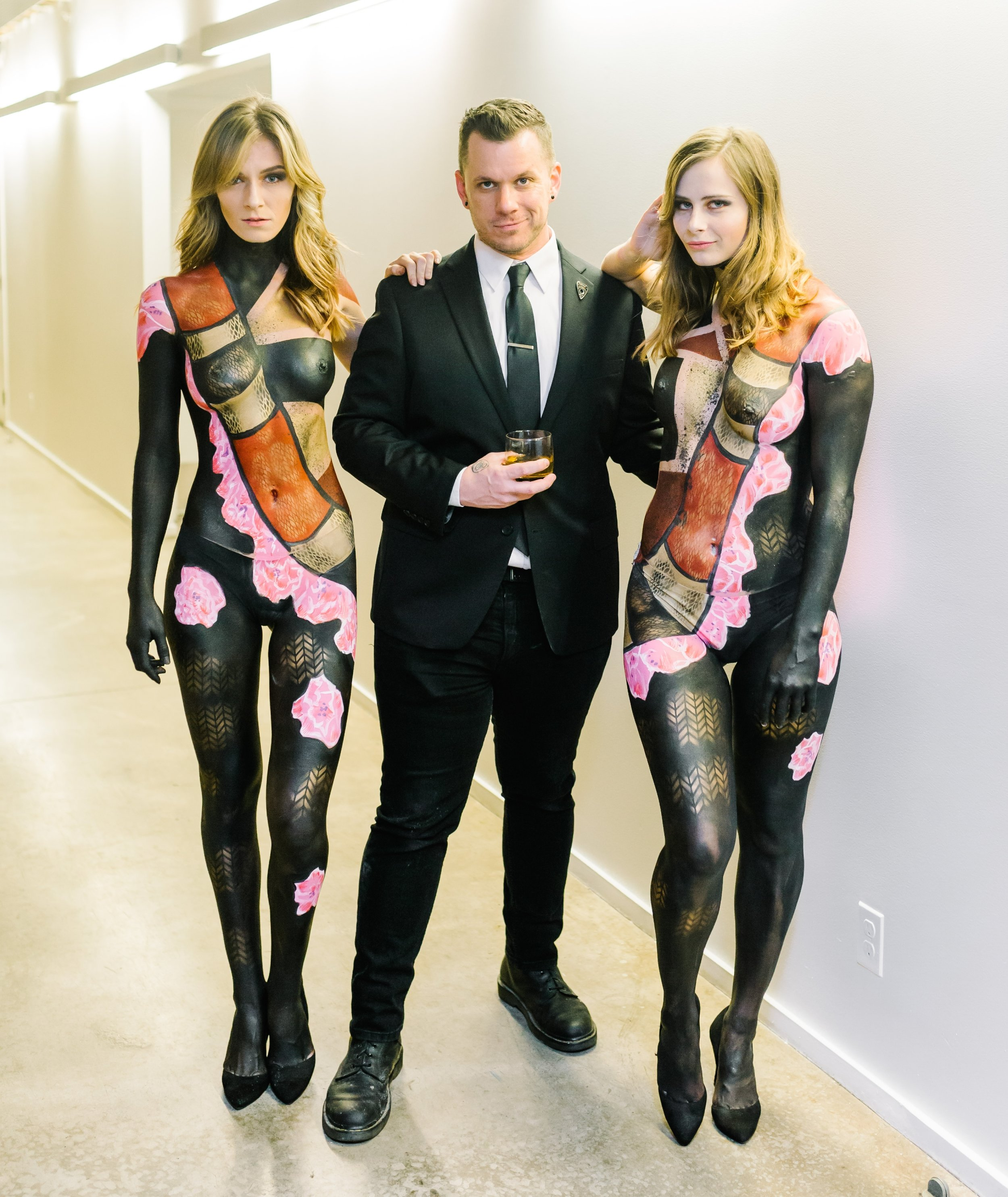 Me with Mallory and Karoline,Photo by Morgan Worley