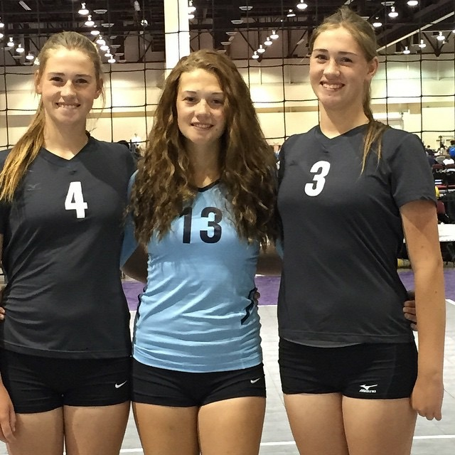 Kallie Strong. Kassie Strong. Cheyanne Strong. Silver State Volleyball Club. VolleyBlog.