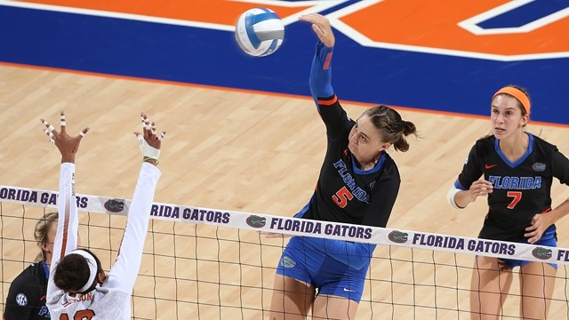 AVCA Player of the Week: Kramer - What was the Florida middle's hitting percentage this weekend?Click to read more at NCAA.com