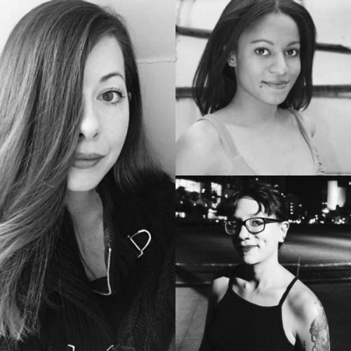LUMINA   Nonfiction Contest Winners (clockwise from left):     E.G. Cunningham, Nadia Owusu, and Alysia Sawchyn.