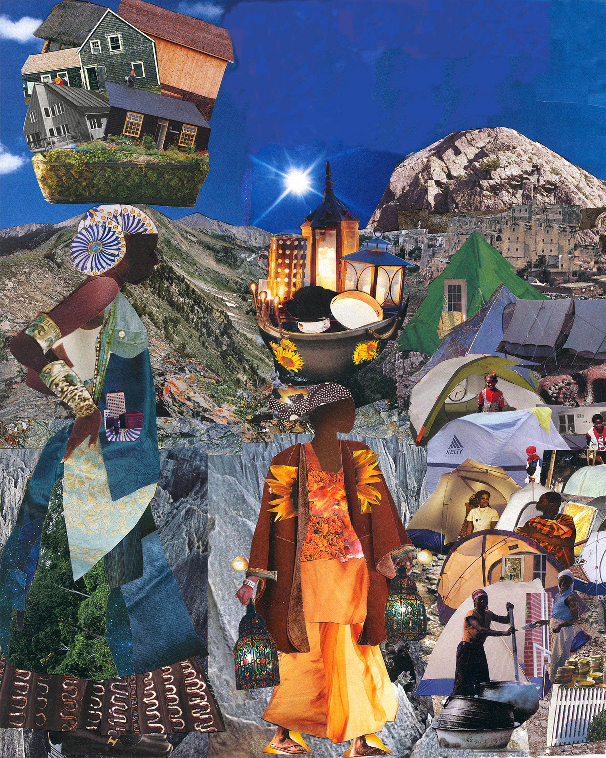 Tent City,  Mirlande Jean-Gilles   Nonfiction: Imiryango, Gabrielle Spear