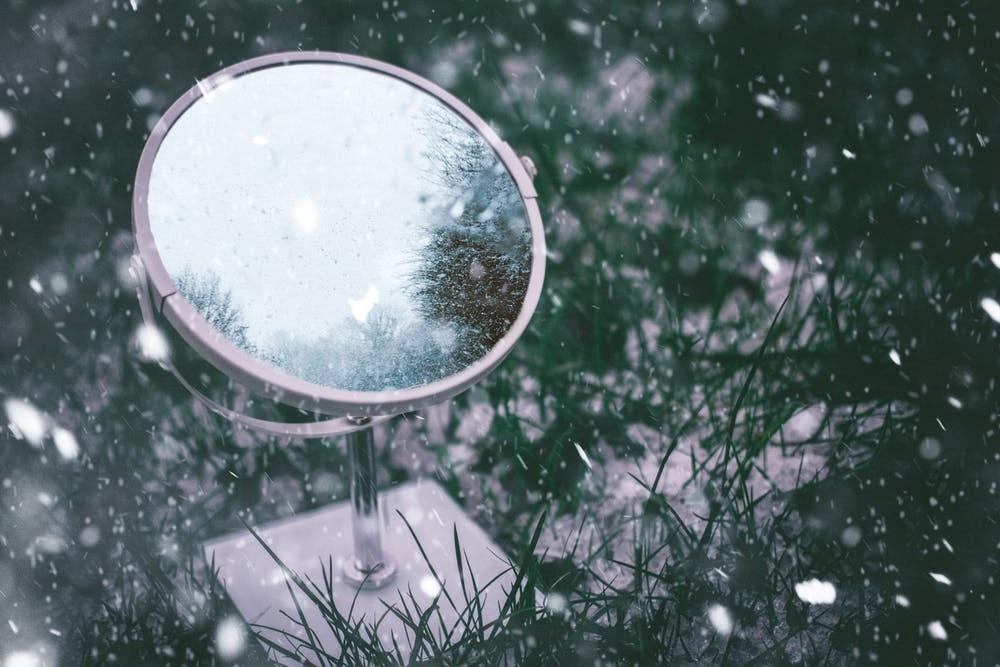 """آئینے - """"Mirror""""By: Vinít Kurup"""