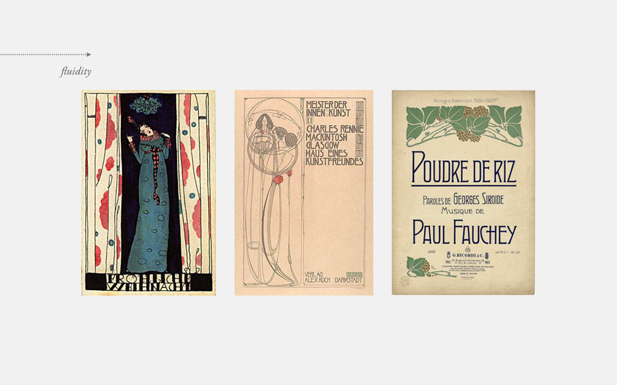 Art Nouveau: fluid