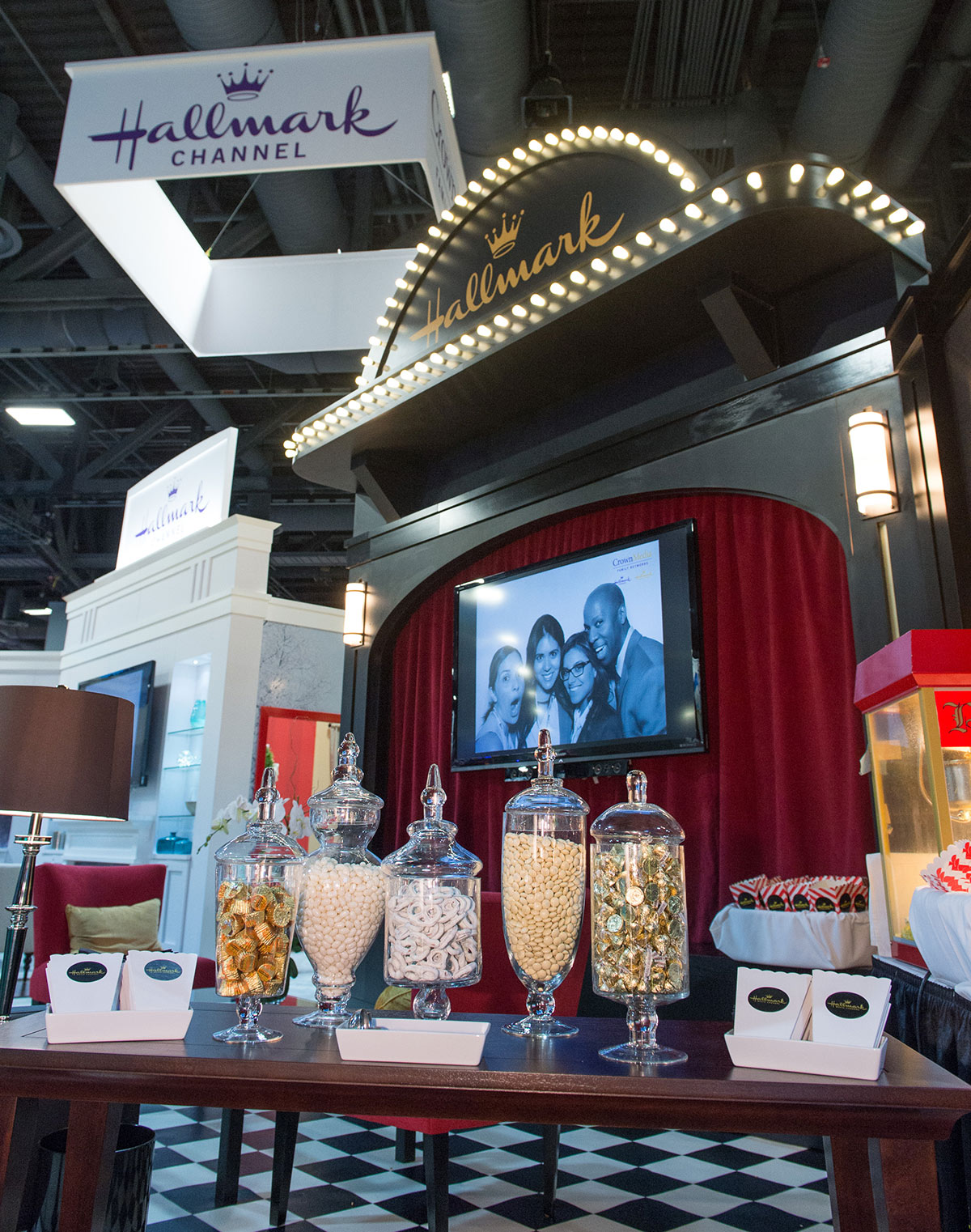 2013 Crown Media Booth Party at INTX