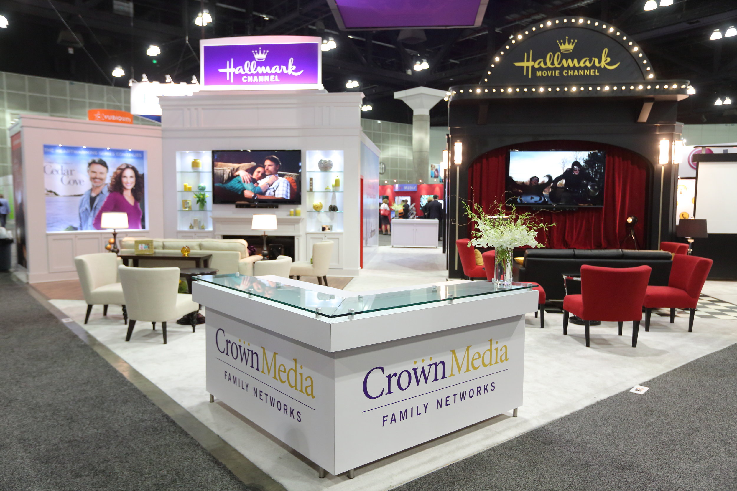 2014 Crown Media Booth at INTX