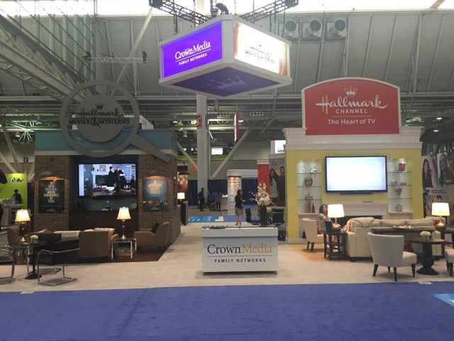 2016 Crown Media Booth at INTX