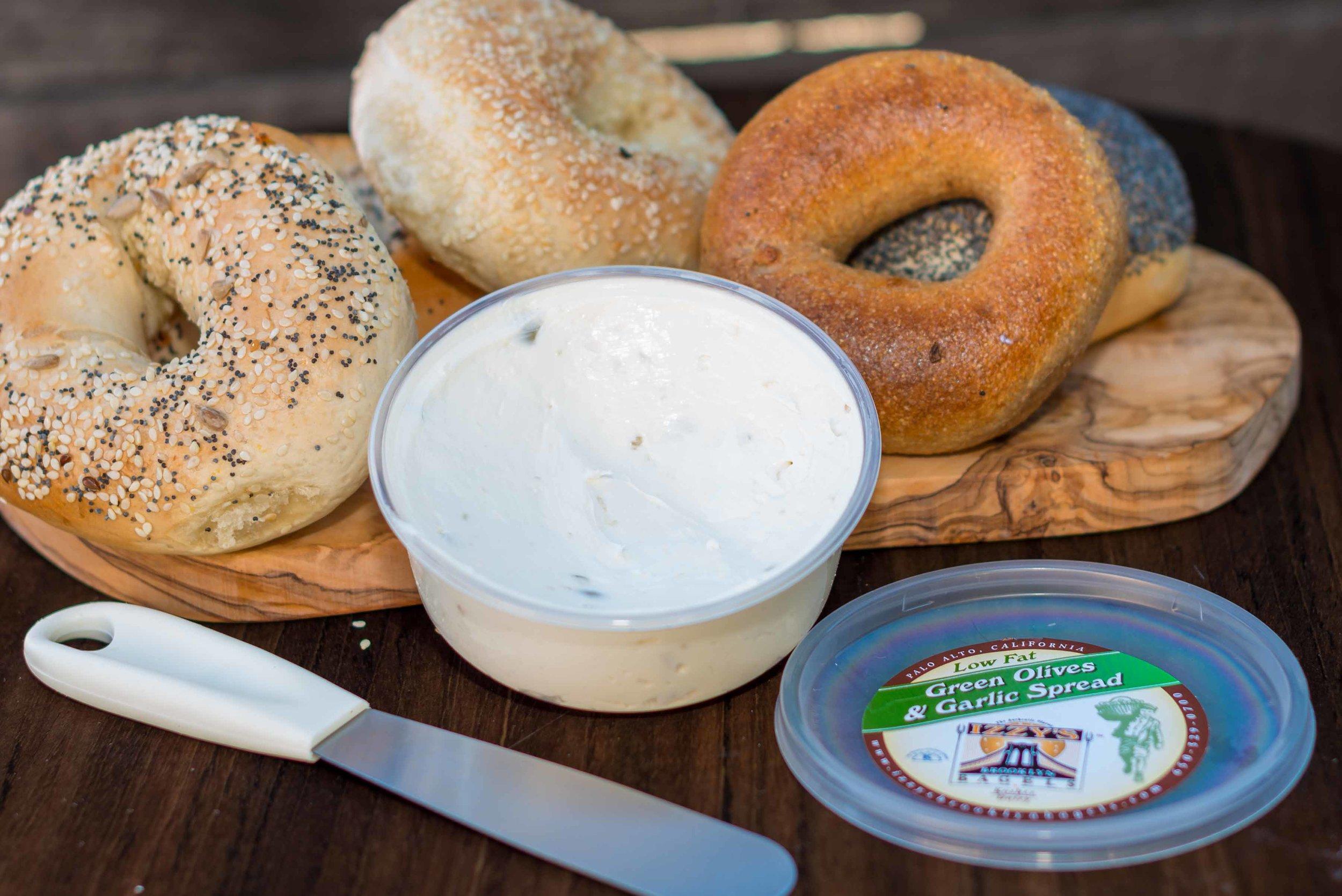 Green Olives & Garlic Spread