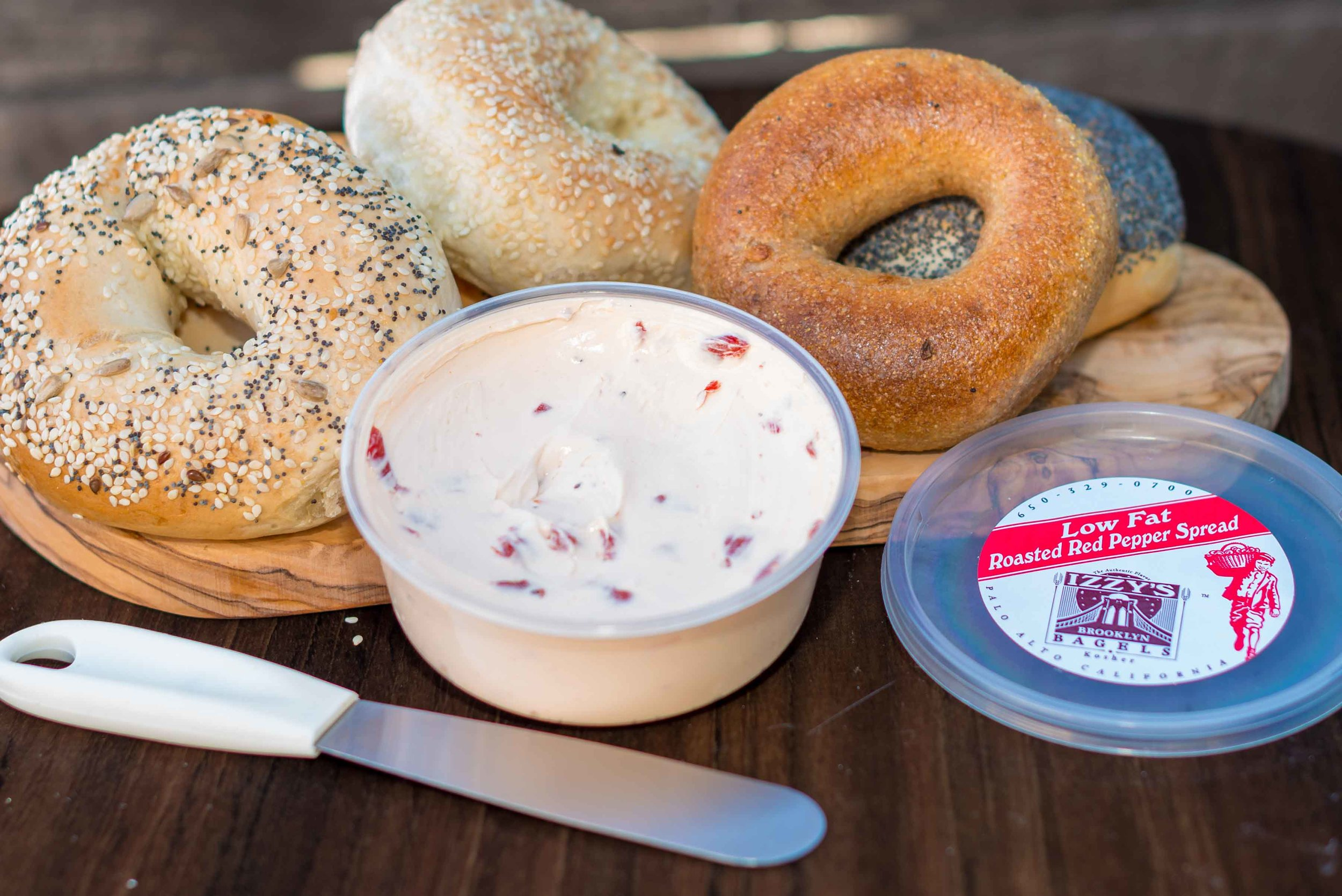Low Fat | Roasted Red Pepper Spread