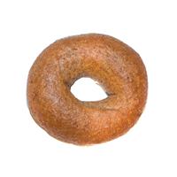 100% Whole Wheat Bagel