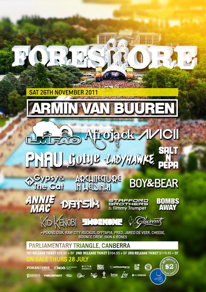 Foreshore 2011