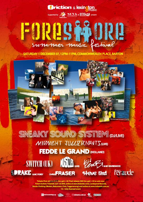 Foreshore Festival 2007
