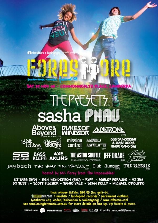 Foreshore Festival 2008