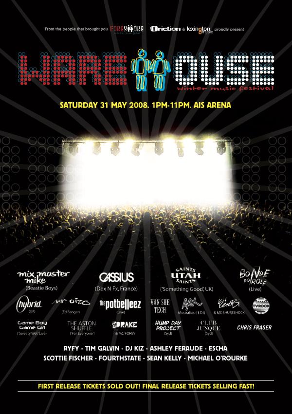 Warehouse Festival 2008