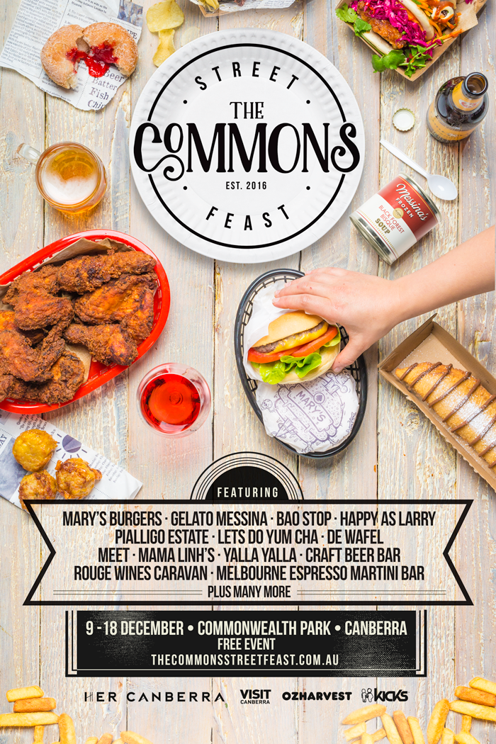 The Commons Street Feast, Canberra