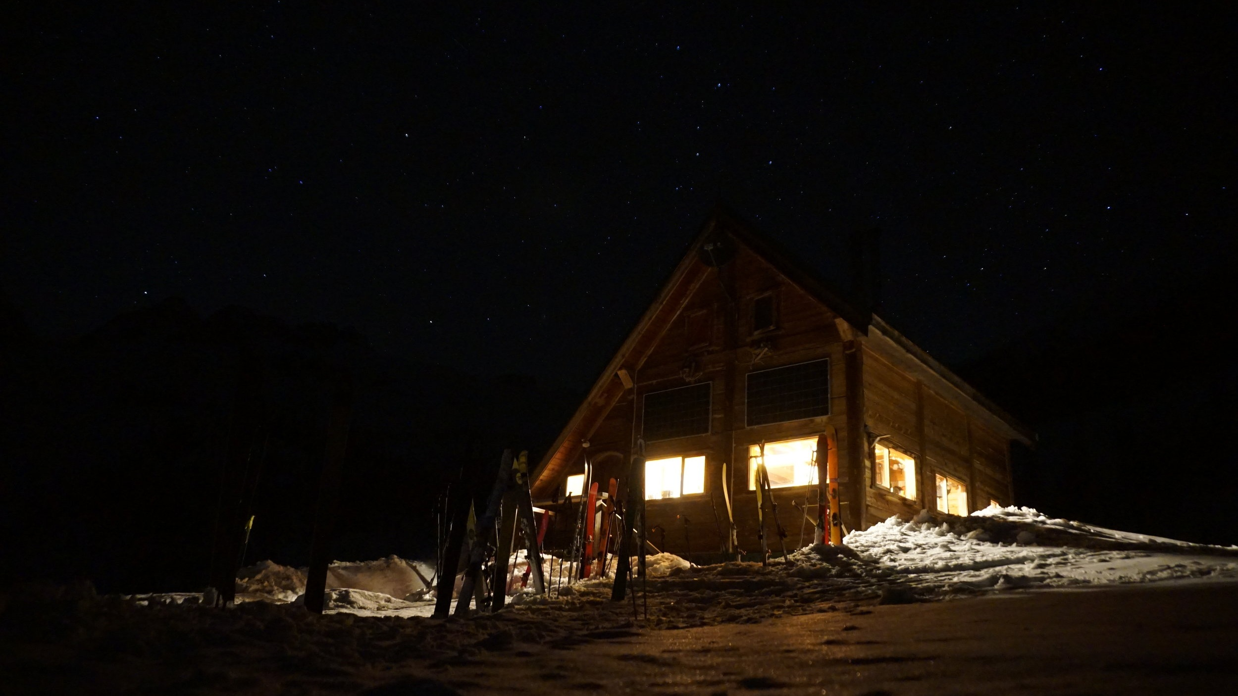 GUIDED HUT TRIPS