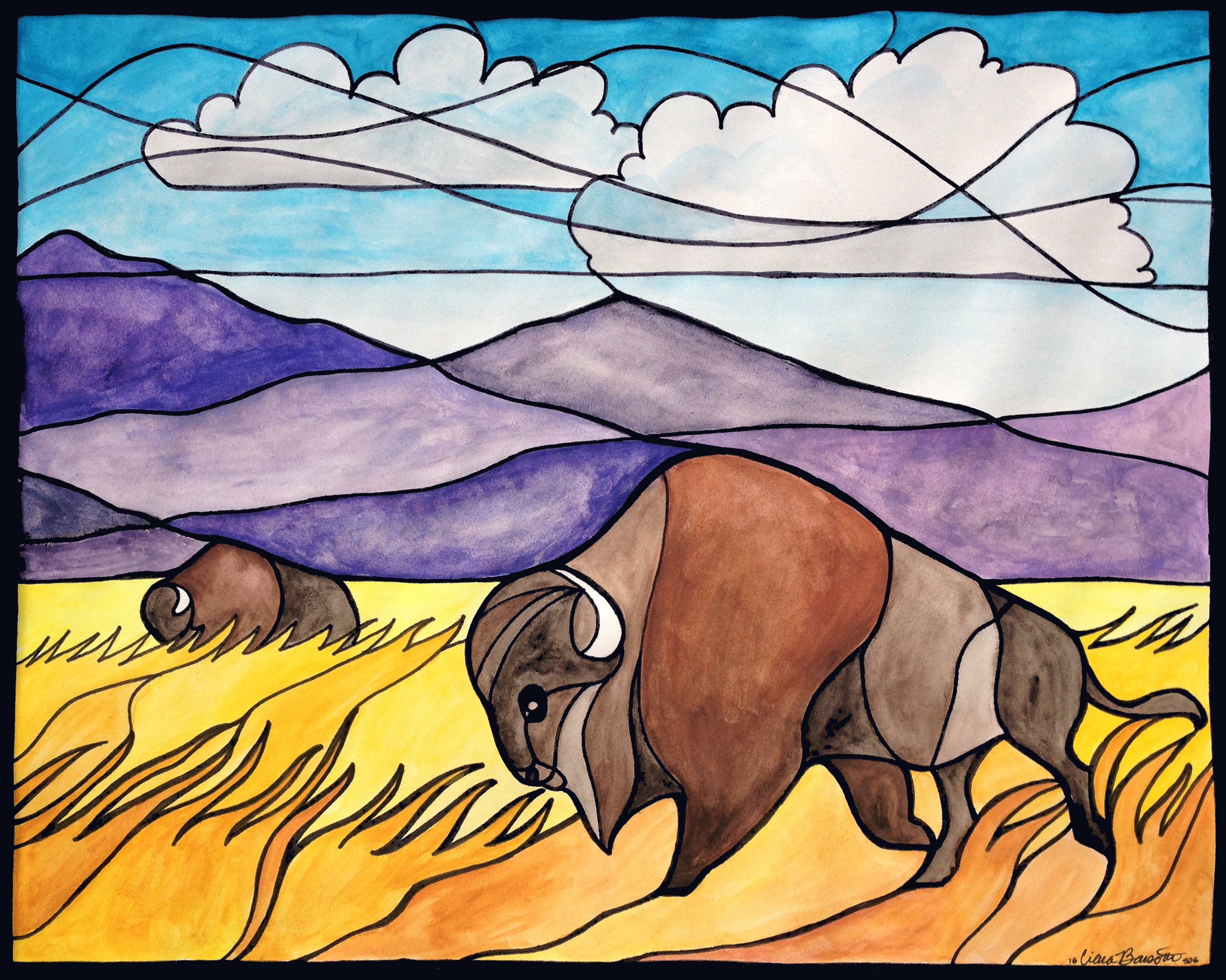 Buffalo Roam
