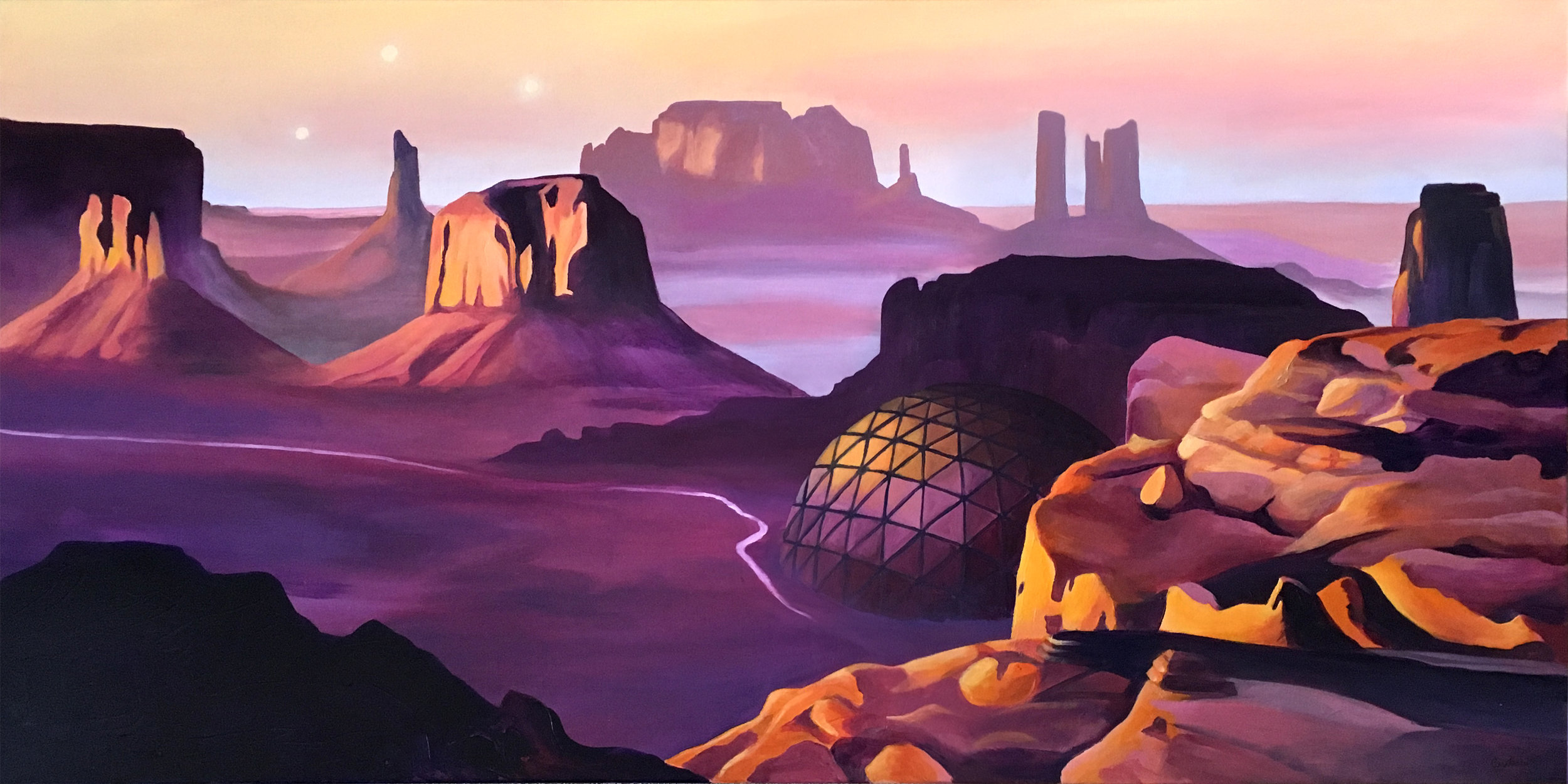 Ghosts of Monument Valley