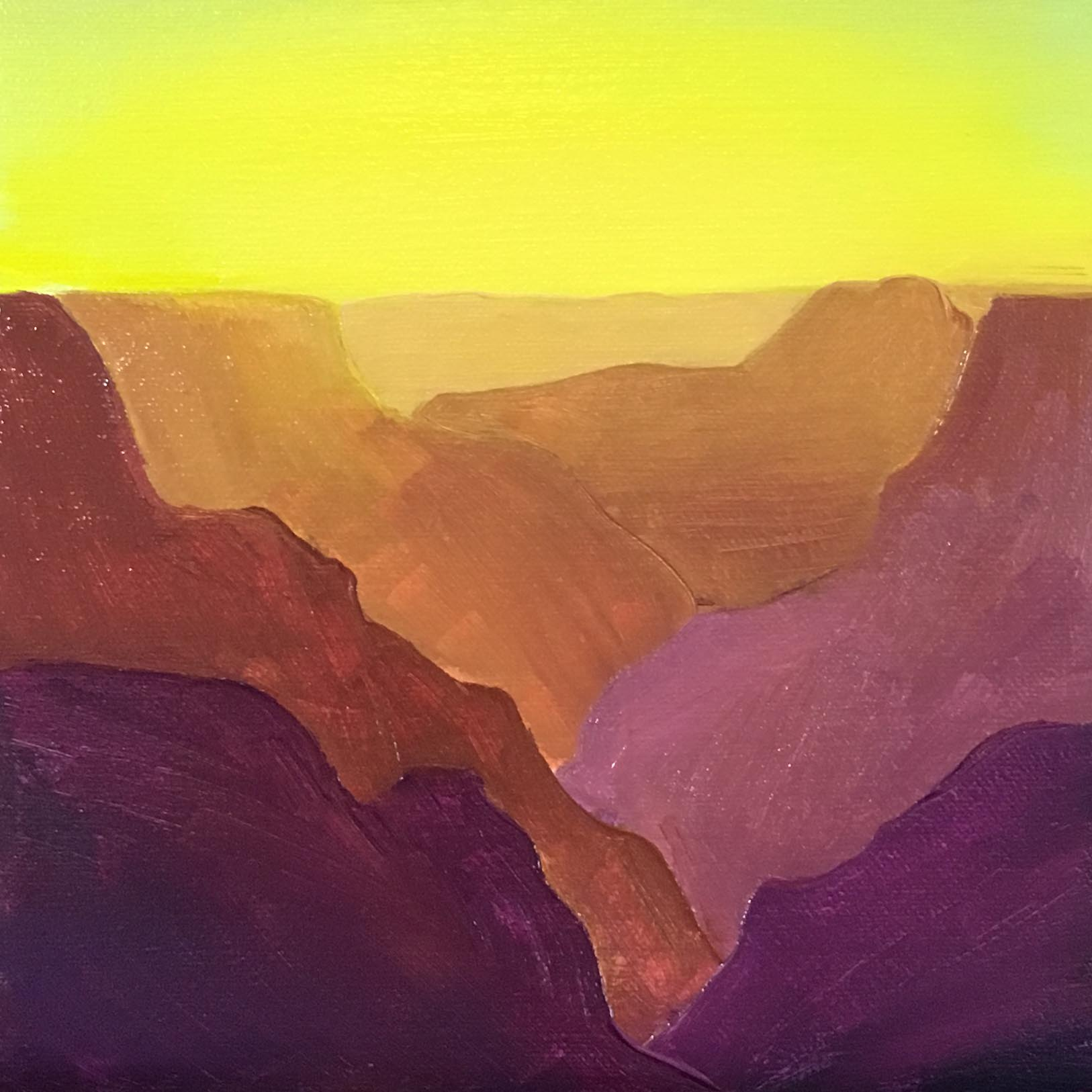 Grand Canyon Ghosts Color Study