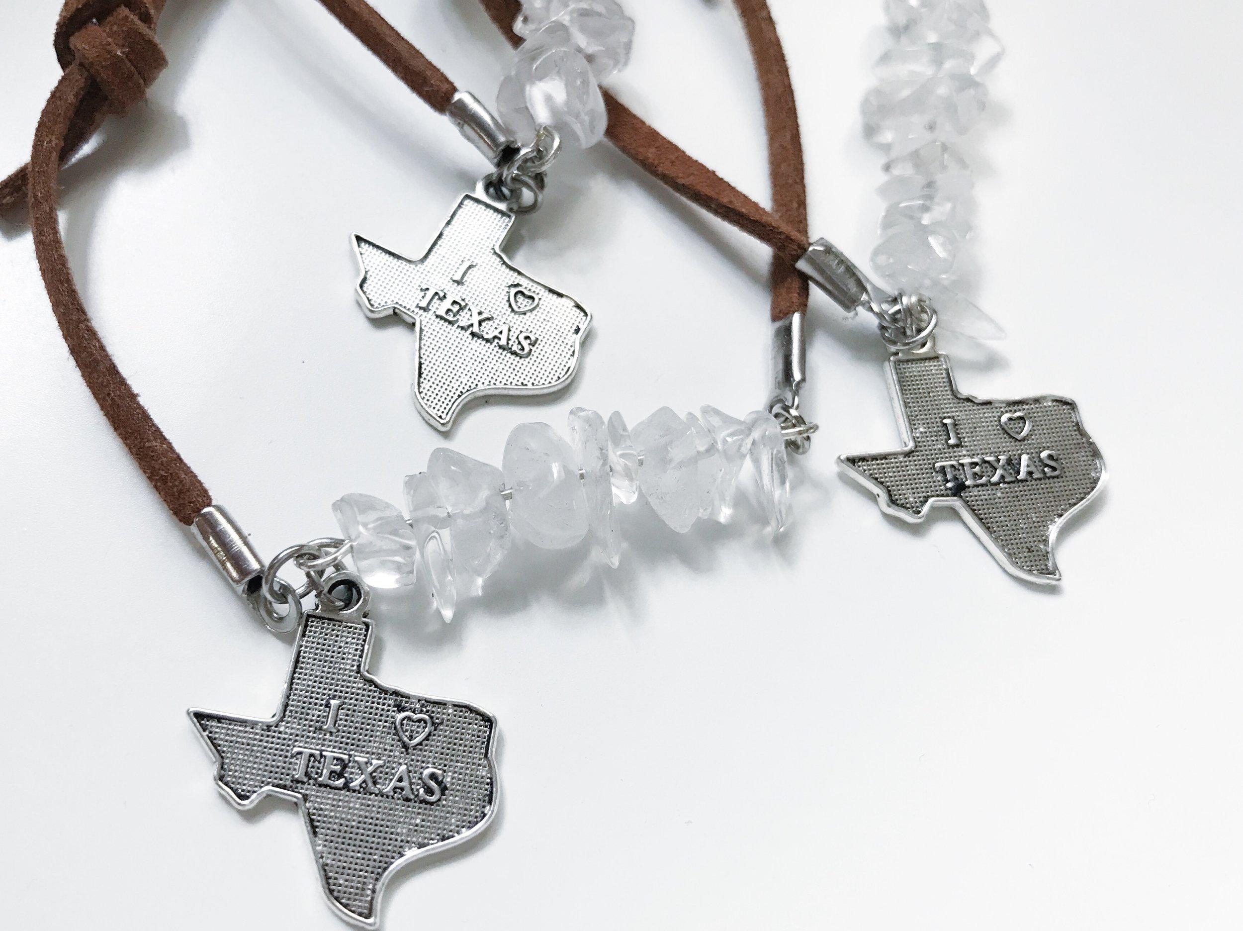 feather and arrow shop Texas bracelet