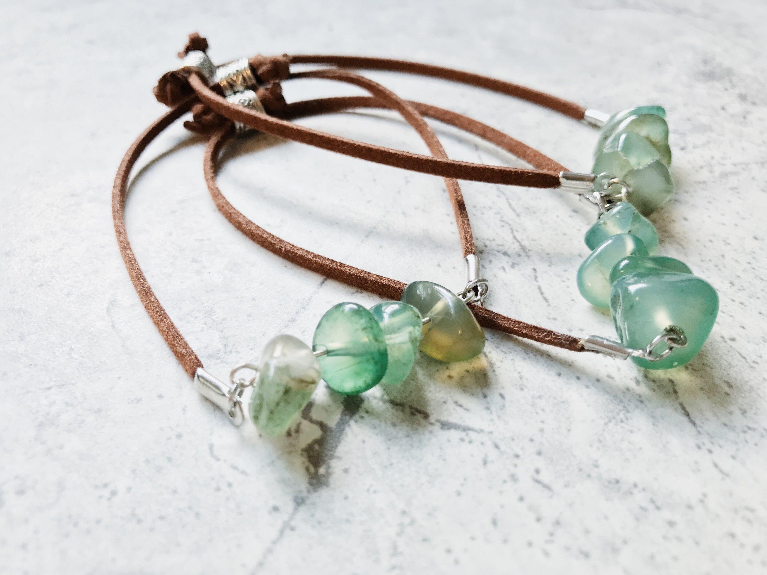 feather and arrow shop stone bracelet