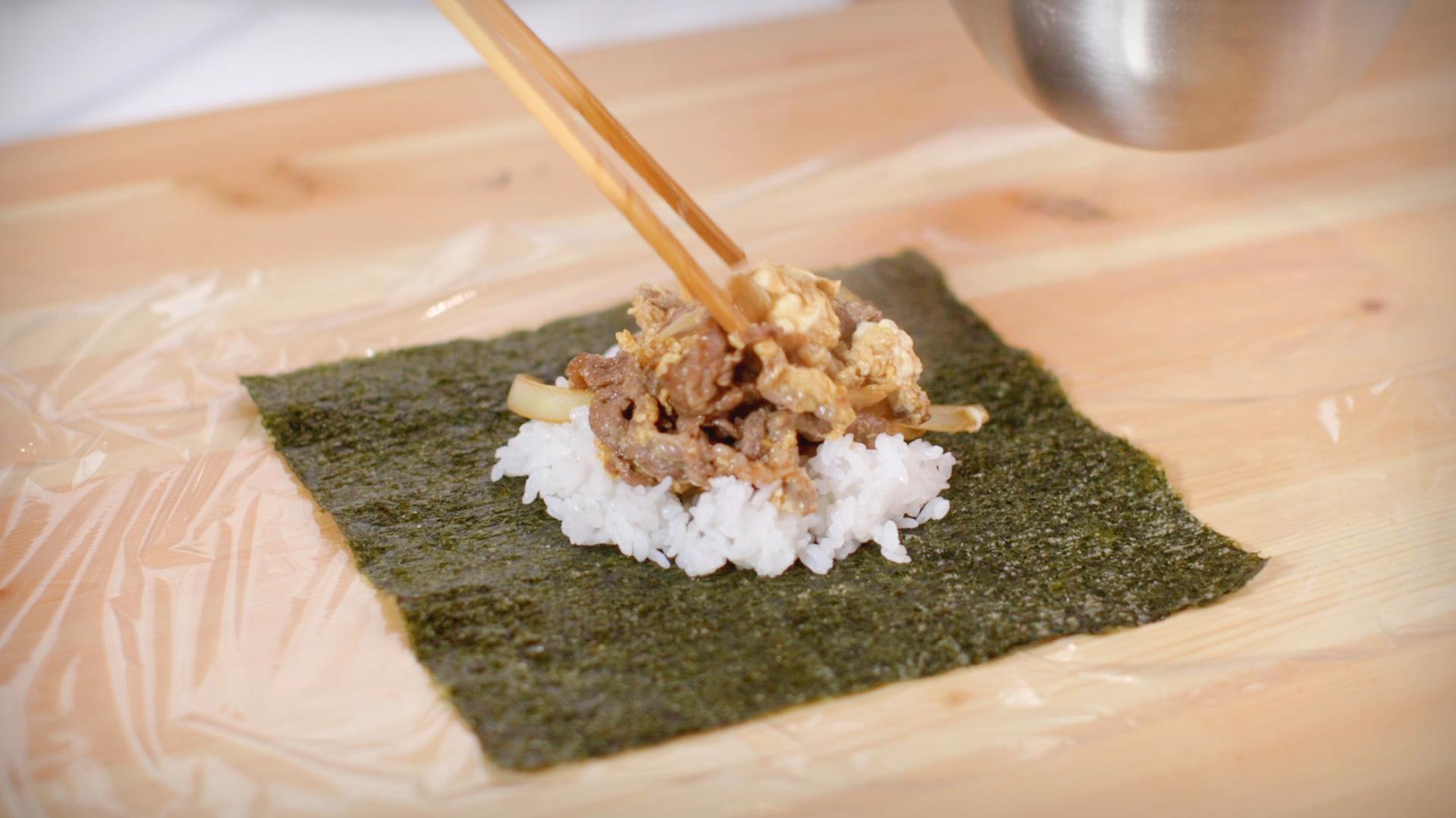 SUKIYAKI (BEEF, ONION & EGG)