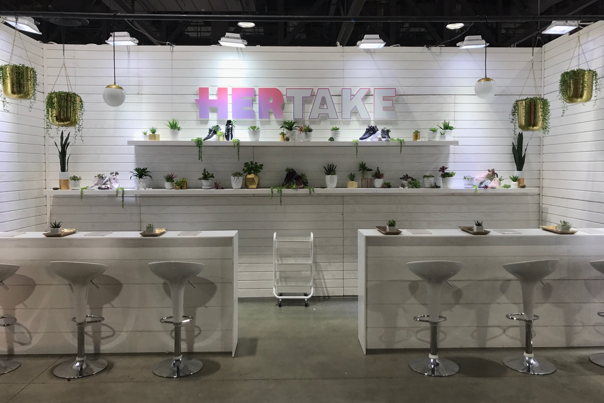 Champ's Her Take  , ComplexCon, Long Beach Convention Center, 2018 Exhibit Styling