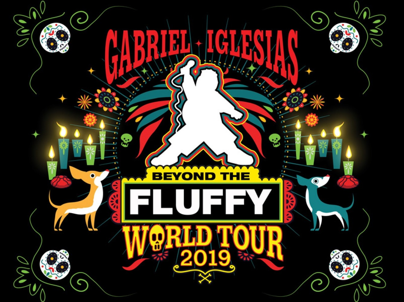 Gabriel Iglesias -  Beyond the Fluffy  National Tour, 2019  Creative Producer - Scenic and Video