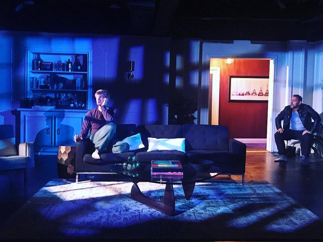 Daniel's Husband , The Fountain Theatre, 2019 Set Design