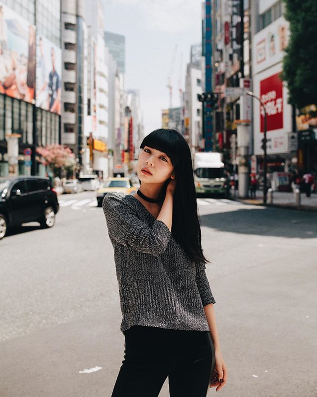 Kanna in Shibuya 💖 @kanna0123 #pursuitofportaits