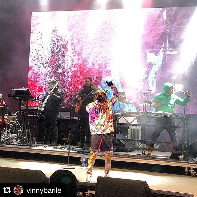 Content from Lil Wayne's last run!  #graffiti #videocontent #concertvisuals #liveshow  @sraeproductions @kllovan @liltunechi