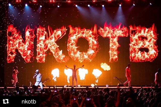 @nkotb fire 🔥 . Had a great time working with @wearefaculty on this one