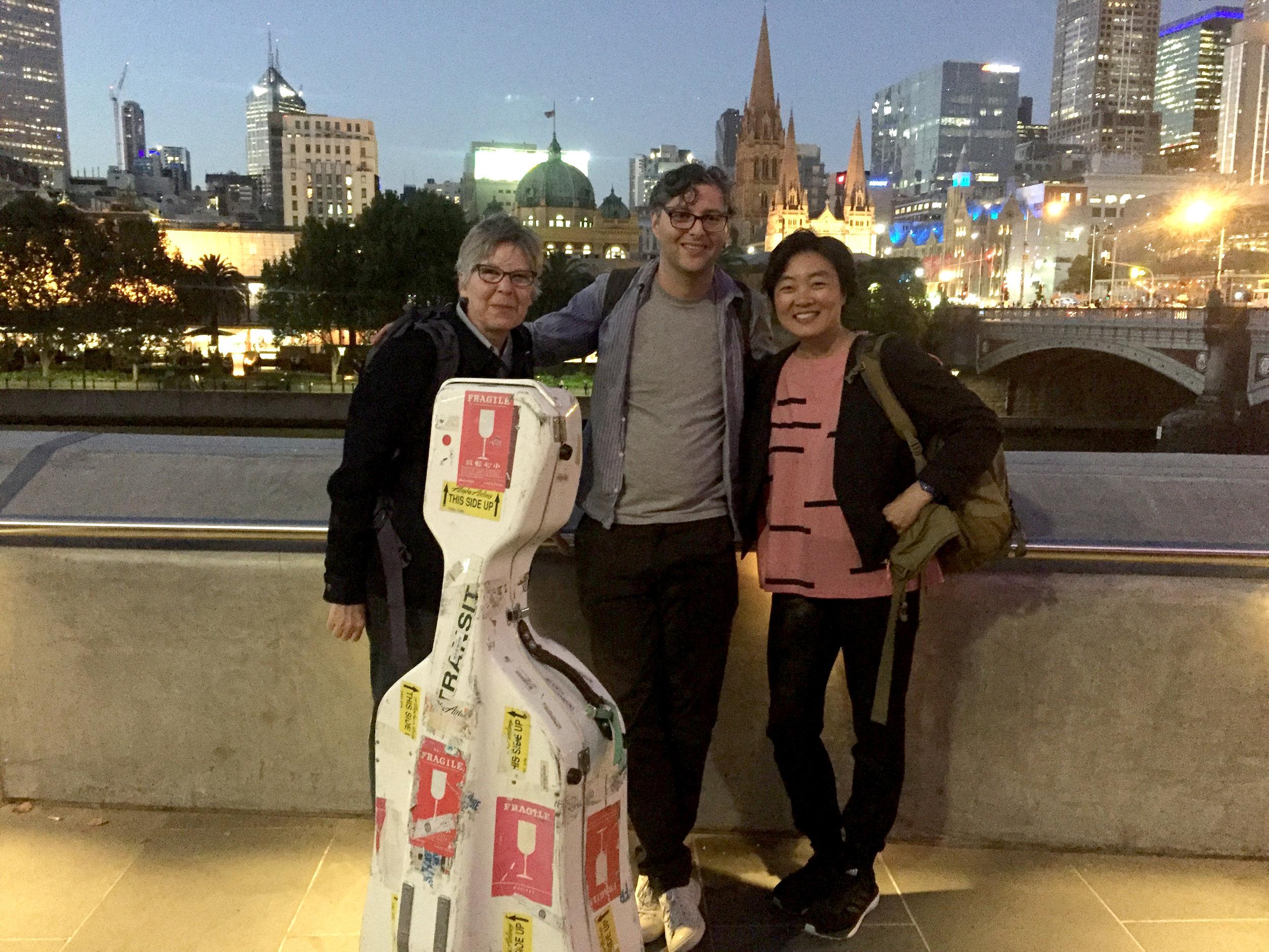 With Ellen Fullman and Joel Stern