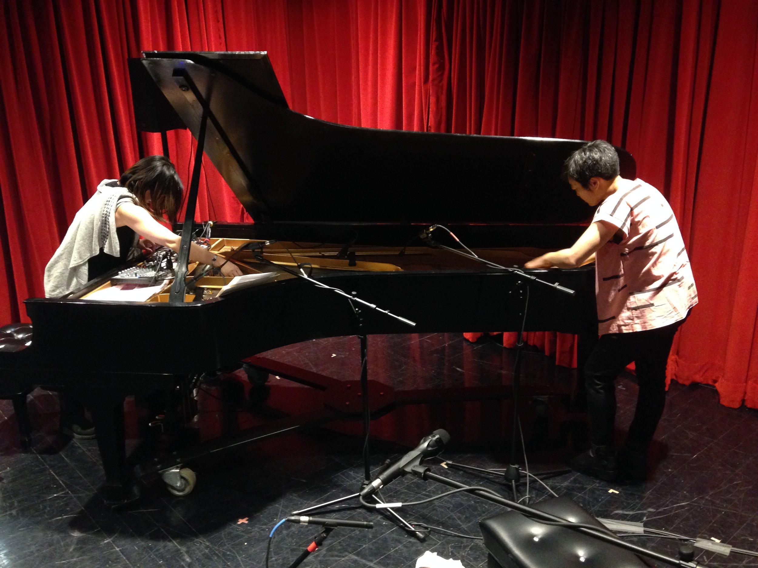 Duo with pianist Motoko Honda