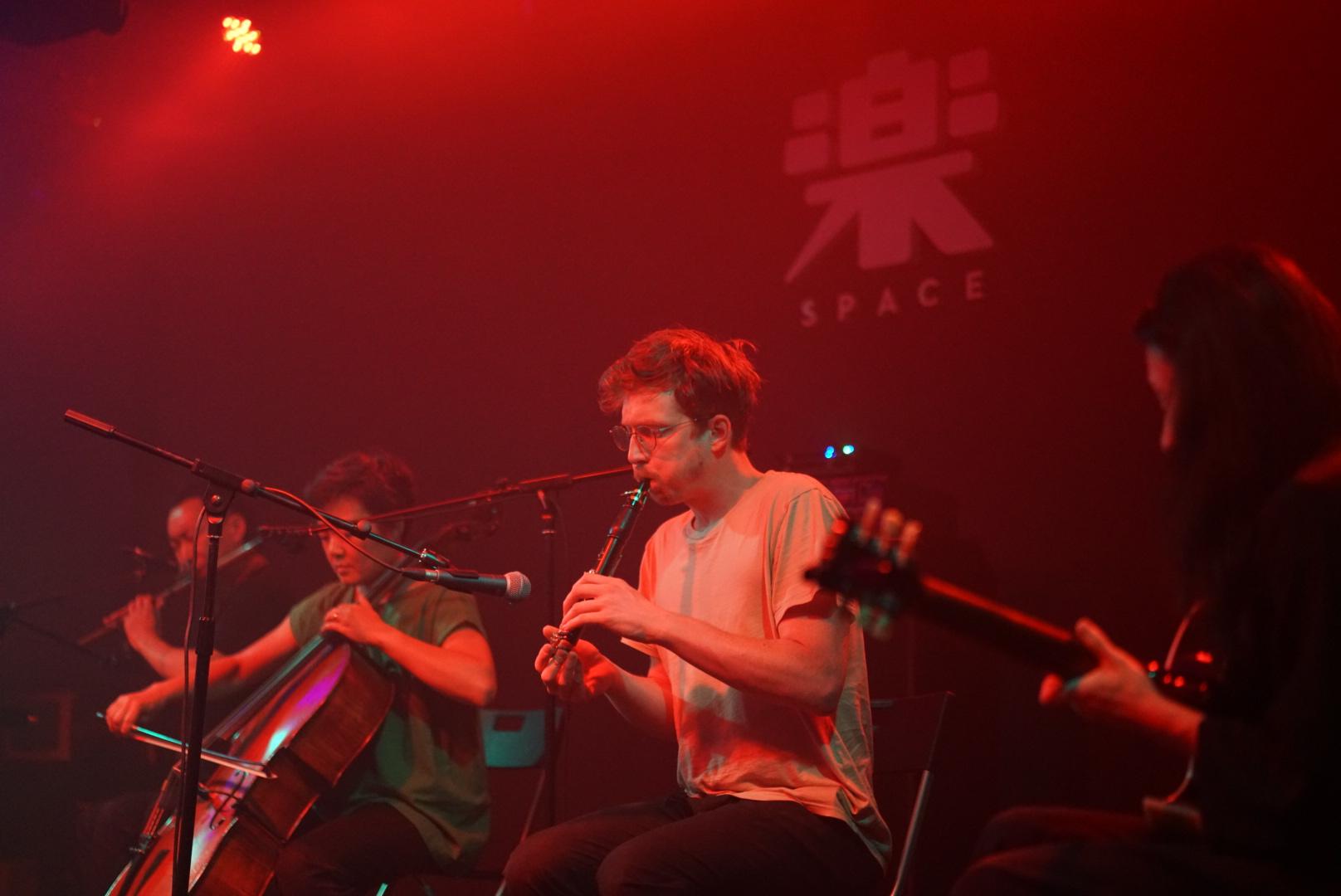 Lao Dan, TW, John McCowen, Li Xing (Yue Space, Beijing)