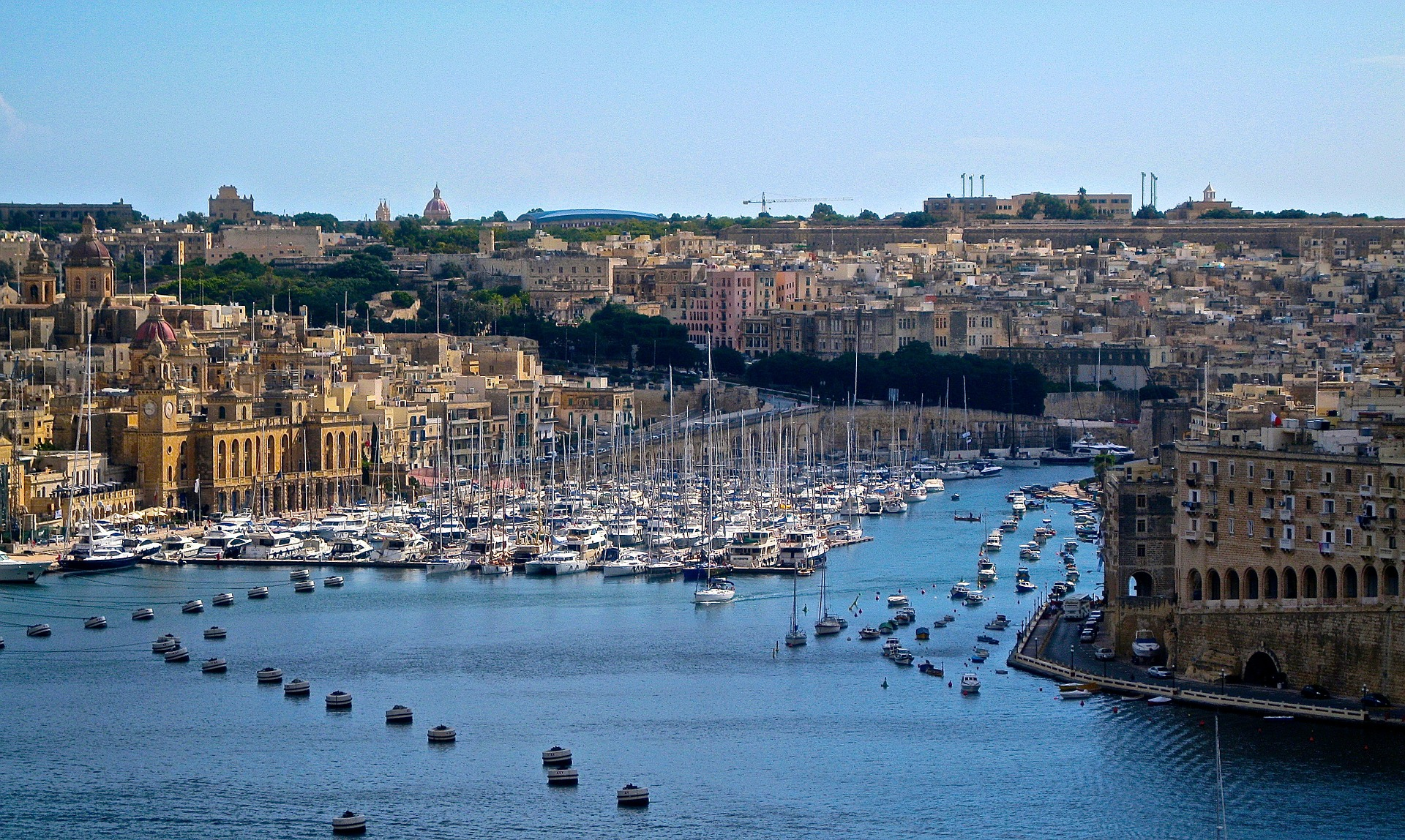 Malta is an attractive destination for sailing and scuba diving.