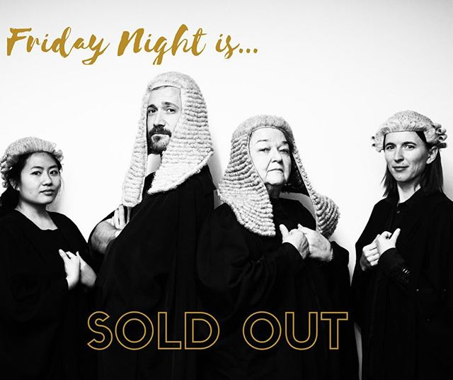 Tickets are sold out to Friday night's performance of Famous Cases in Song! 17-19 May. Law Library of Victoria. Secure your seats while you still can at www.bottledsnail.com/famous-cases-in-song.