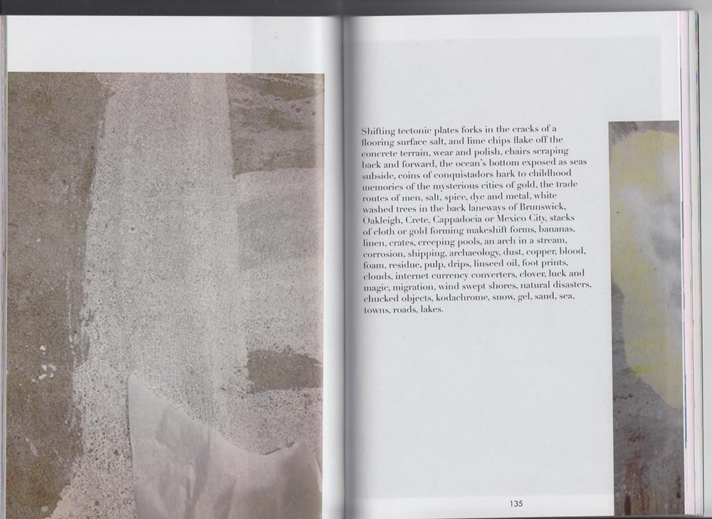 Explaining Roads, a town, a distant lake, 2013  Text by Christopher LG Hill