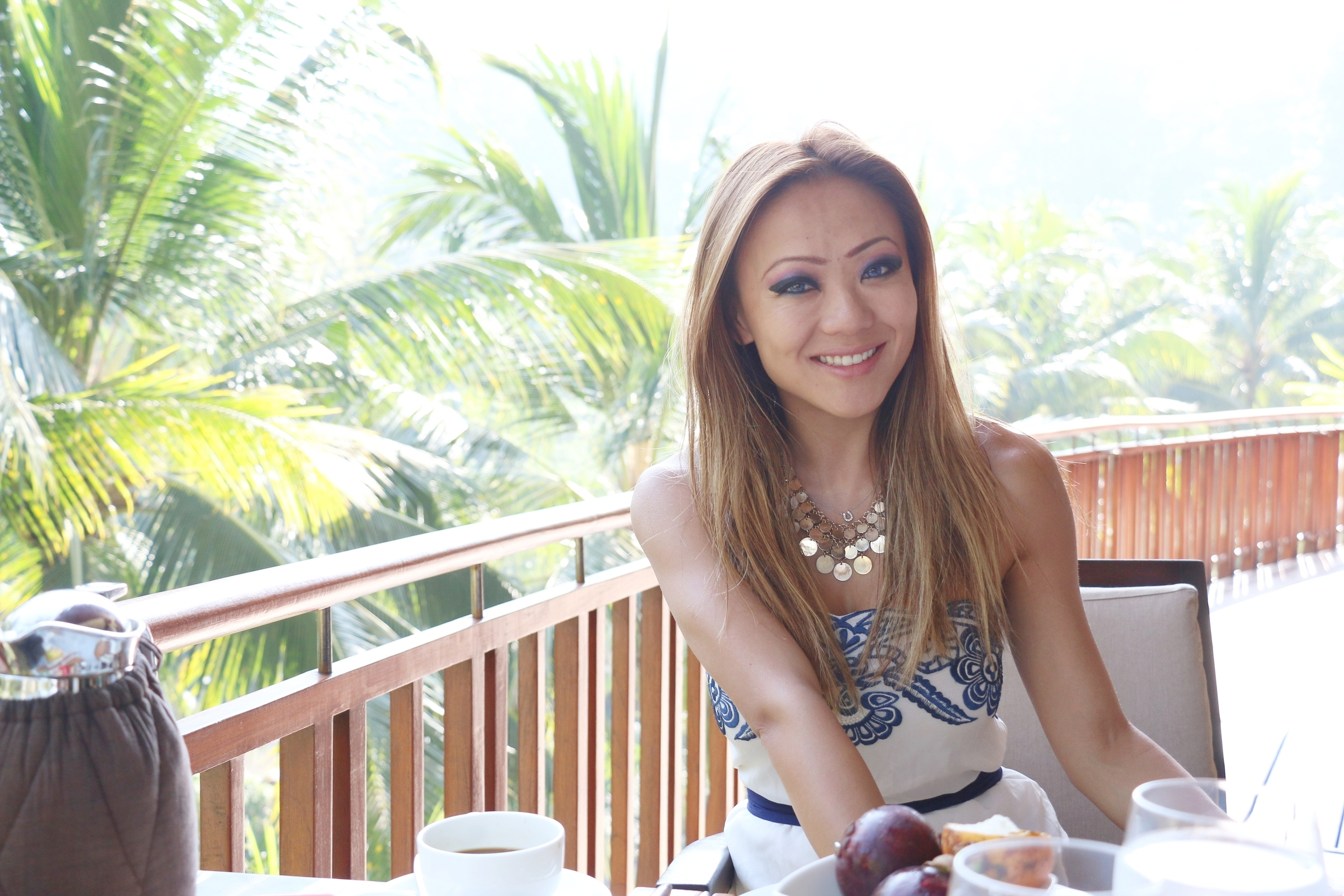Terrace Dining for Breakfast @ Four Seasons Sayan, Ubud Indonesia