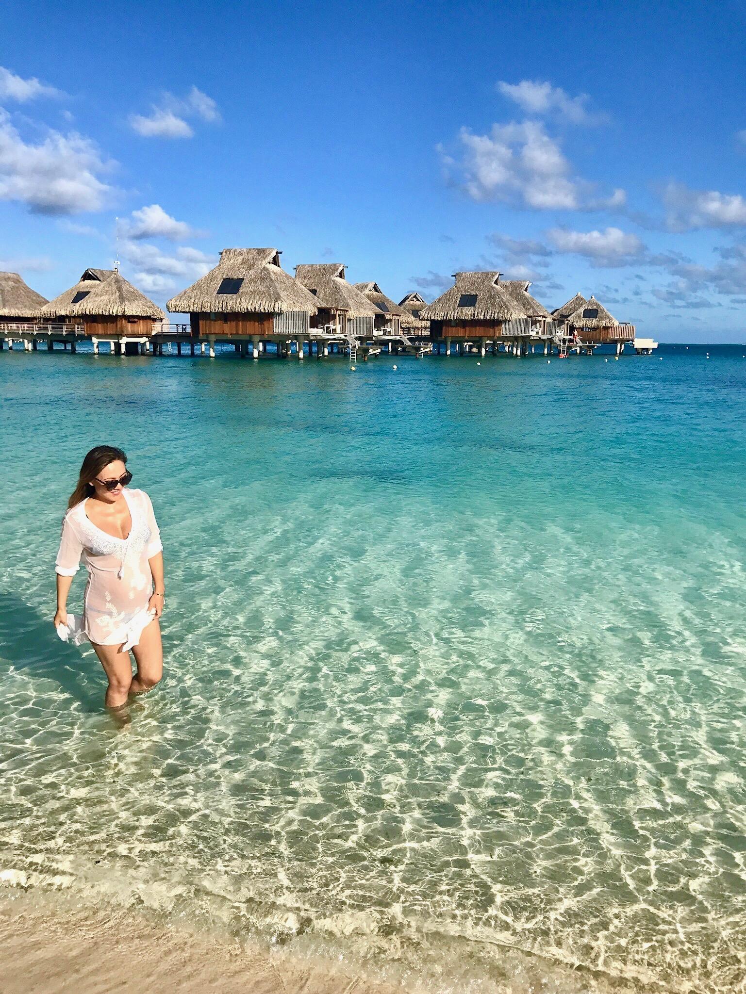Bora Bora Babymoon 2017
