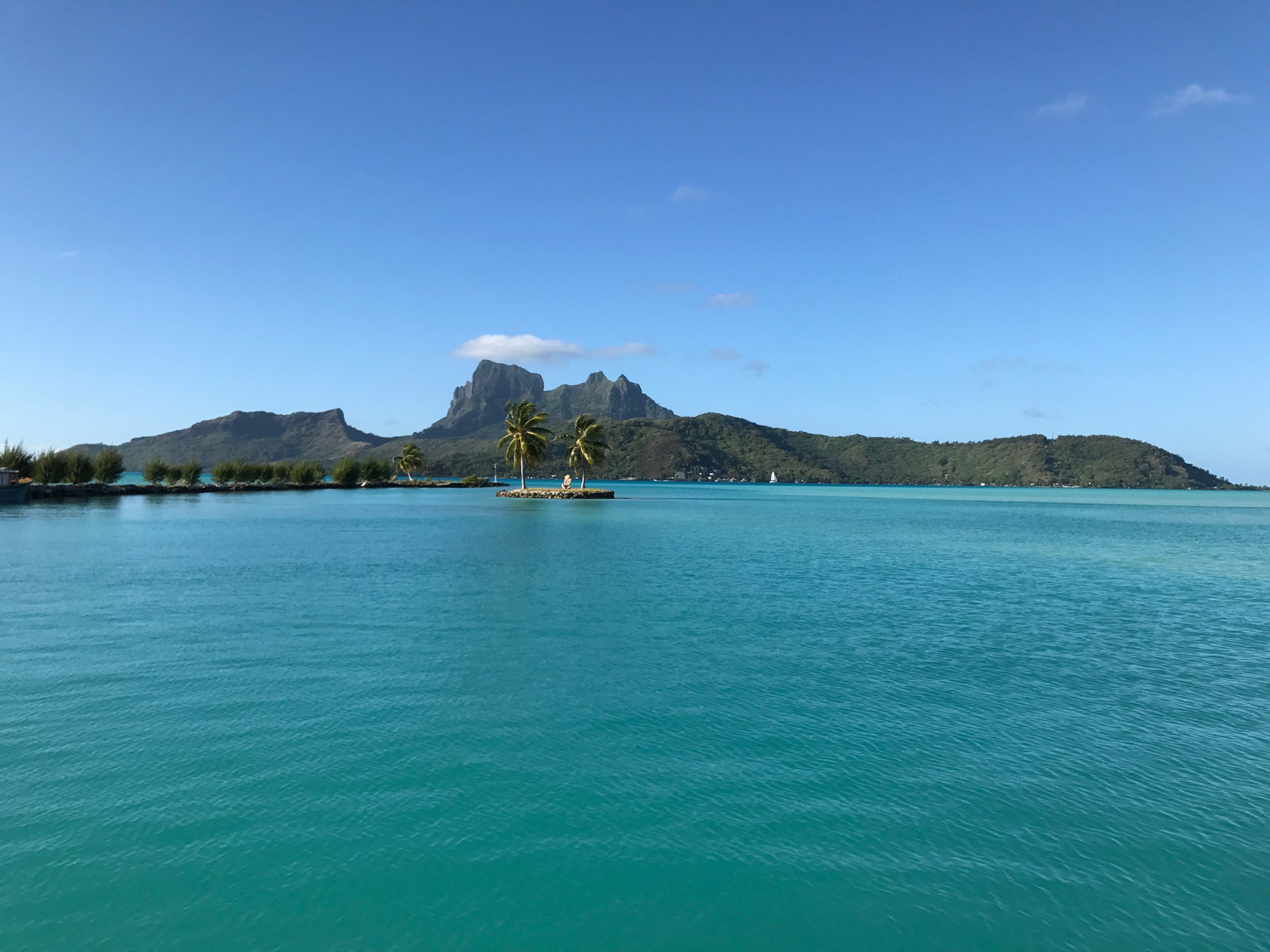 Bora Bora Airport: Take a deep breath, smile and be grateful this slice of a paradise is a reality