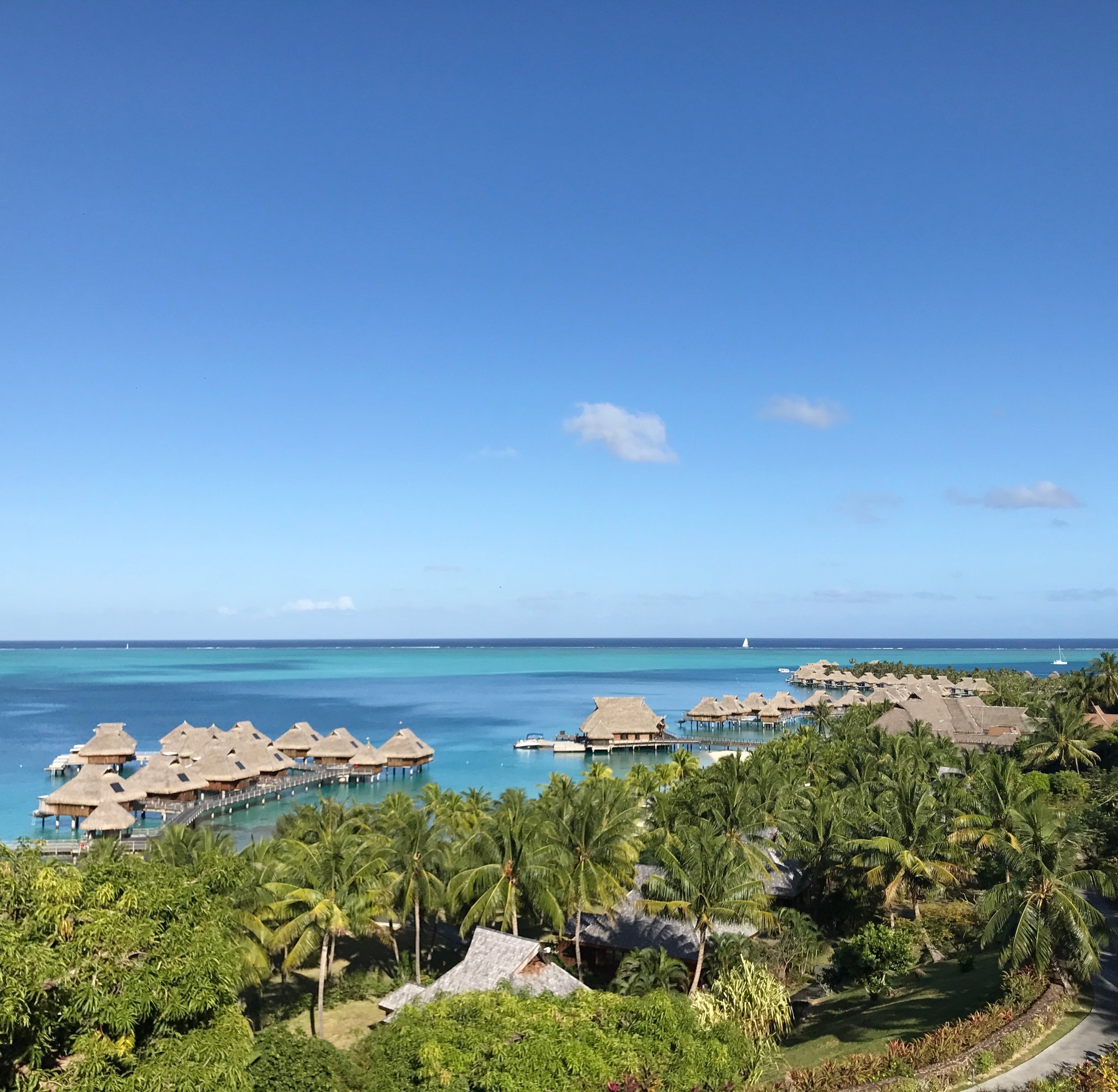 Check out the aerial view of the resort from the SPA