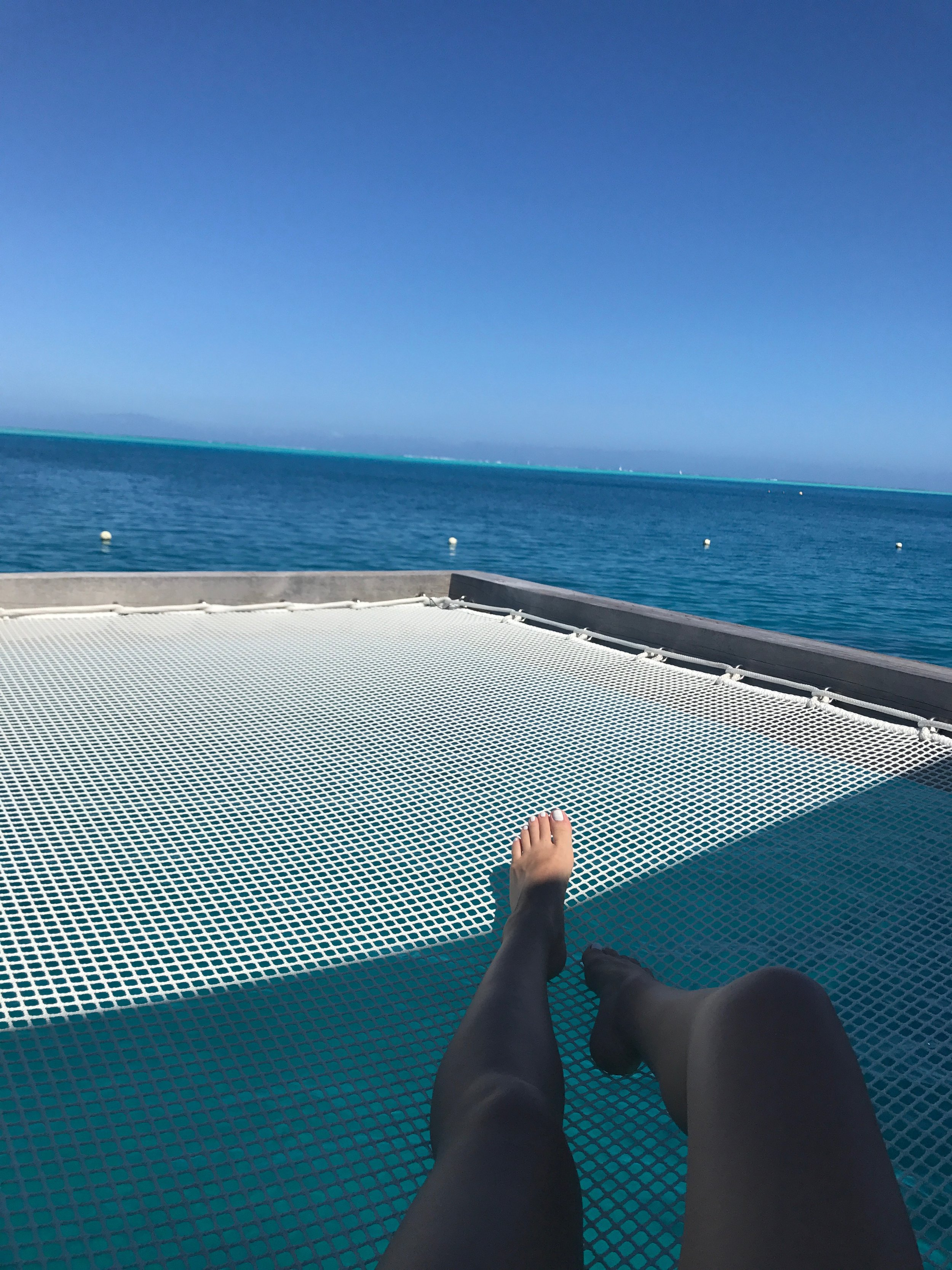 Grab a good book, take a nap or just enjoy the view from your own hammock with the water right below you in the privacy of your own villa