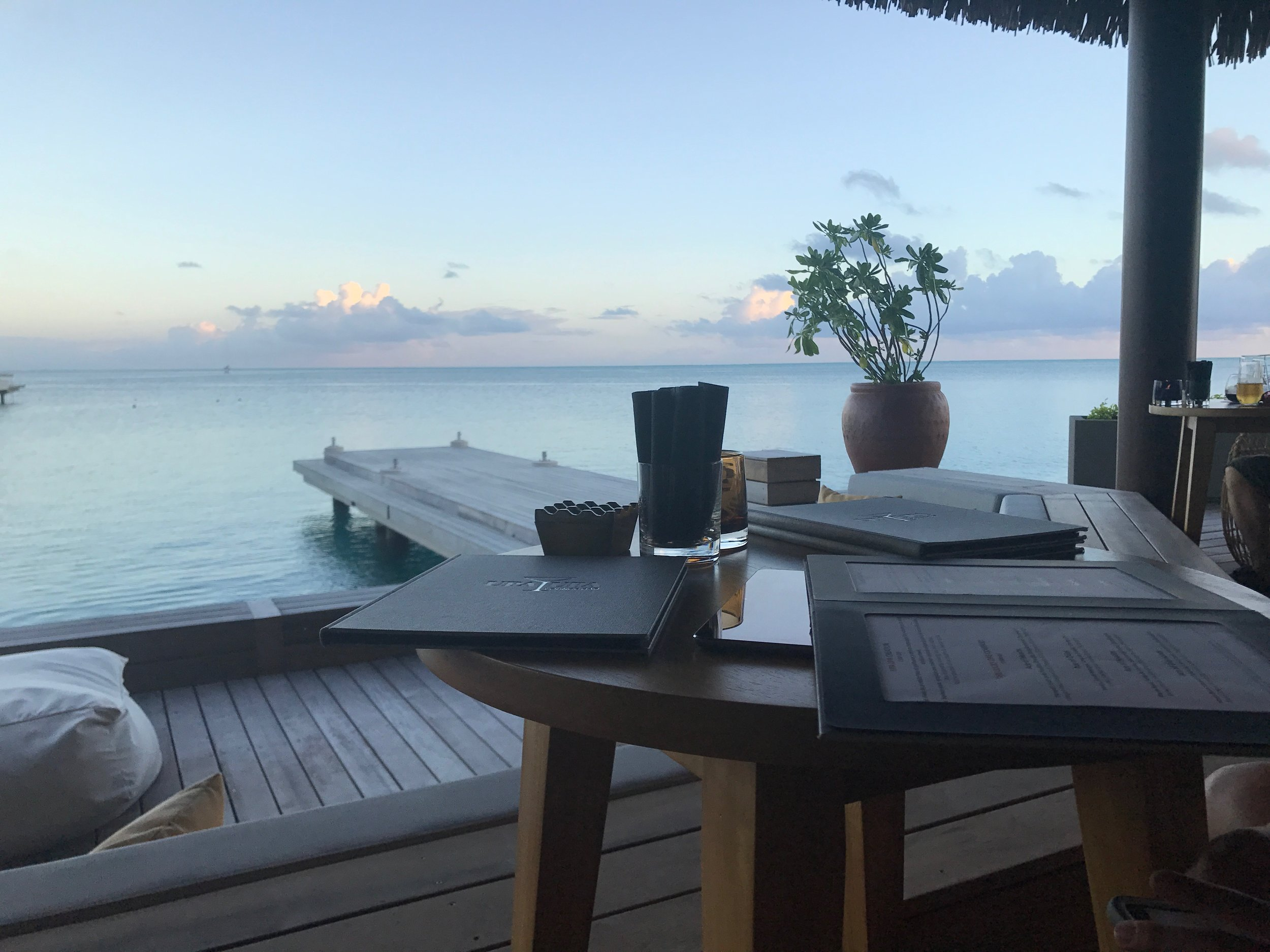 Modern zen bar/lounges where you can grab a mocktail, some lite bites while waiting for the sun to set, staring at the best view ever. @upaupaloung