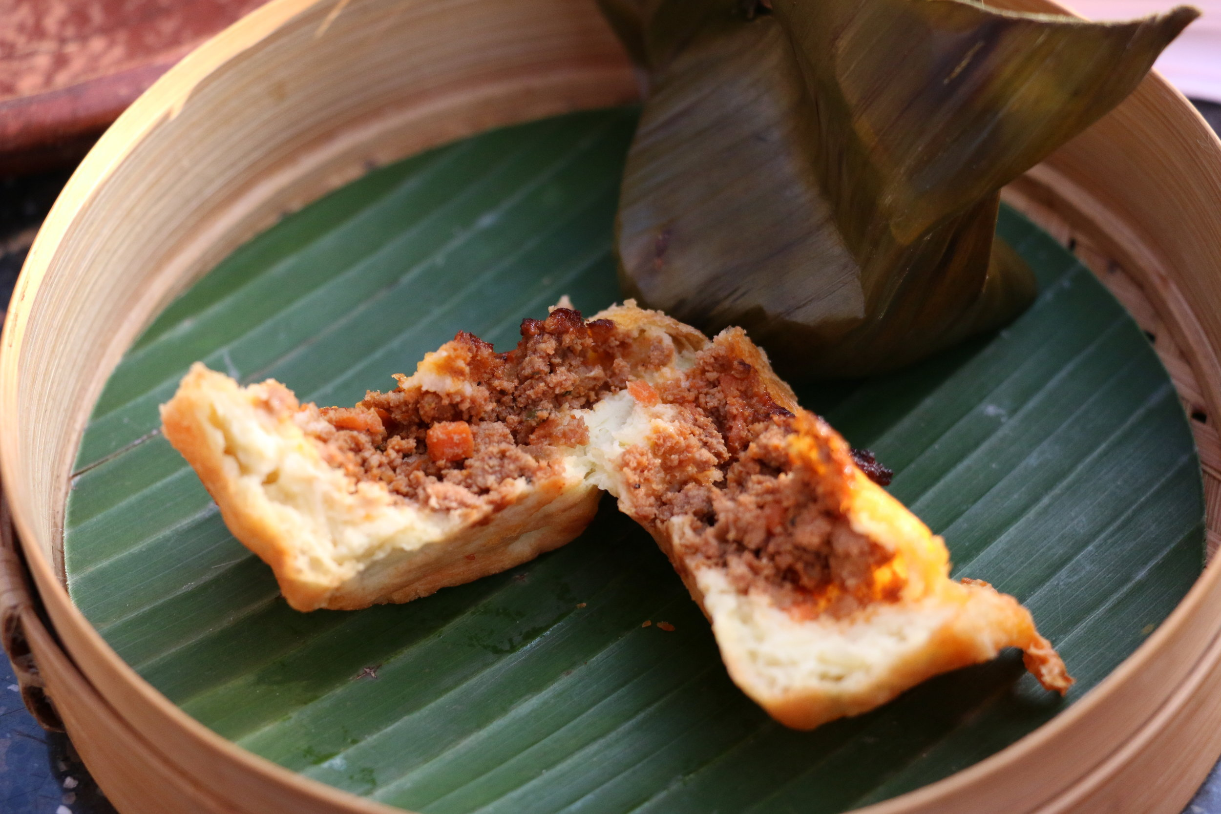 Our savory pastry filled with minced meat and carrots